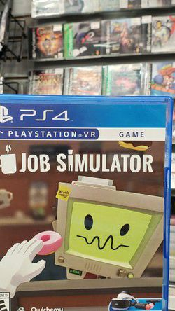PS4 Job Simulator (Pre-owned) for Sale in Torrance,  CA