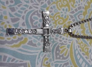 Stainless steel cross necklace for Sale in Waukegan, IL