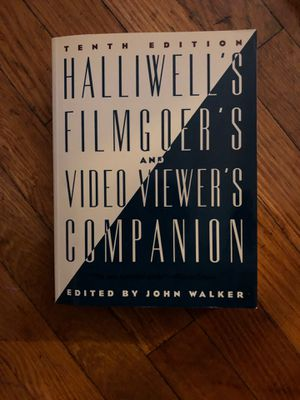 Halliwells Filmgoers and Video Viewers Companion edited by John Walker for Sale in Rahway, NJ