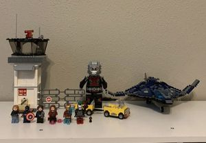 Captain America Airport Battle LEGO Set for Sale in Friendswood, TX