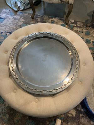 Large Silver Tray for Sale in Plymouth, MA