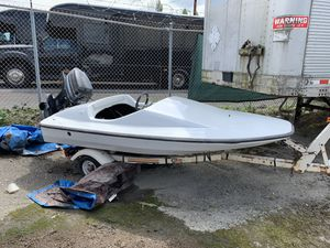 10' Invader Speed Boat 40hp (Gw/bayliner) for Sale in Kenmore, WA