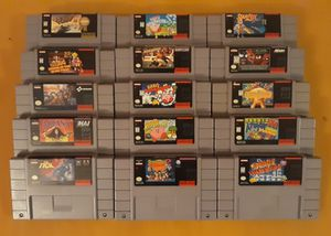 Super Nintendo SNES games for Sale in Columbia, MD