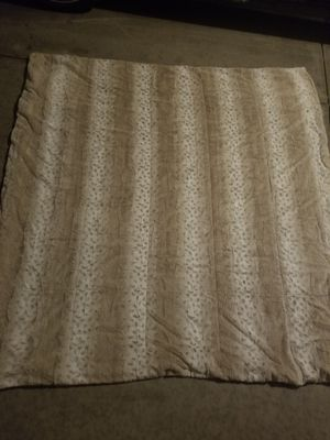 Faux fur throw blanket . 60x70. We got 2 for Christmas so selling the extra one. $20. Retails for $50 for Sale in Henderson, NV