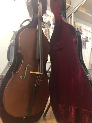 Cello 4:4 with hardcase and bow for Sale in Gaithersburg, MD