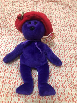 Beanie Baby 2005 Ruby the Red Hat Society Bear for Sale in Brandon, FL
