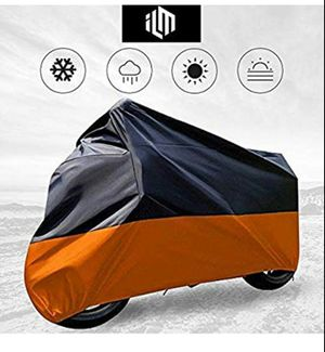 Motorcycle Cover Waterproof Sunblock Dustproof Outdoor Garage Motor Cover for Sale in Dover, DE