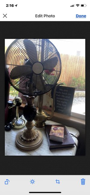 Vintage hand crafted Palm tree fan for Sale in Wenatchee, WA