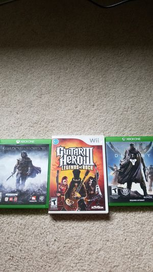 Video games xbox one and Wii (not wii u) for Sale in Lake Stevens, WA
