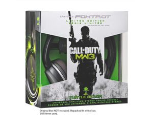 Turtle Beach Call of Duty: MW3 Ear Force Foxtrot Limited Edition Universal Amplified Stereo Gaming Headset for Sale in York, PA
