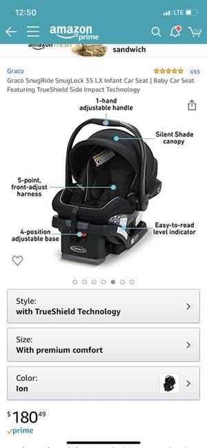 Graco true shield SnugLock Technology Baby Car Seat for Sale in Glendale, AZ