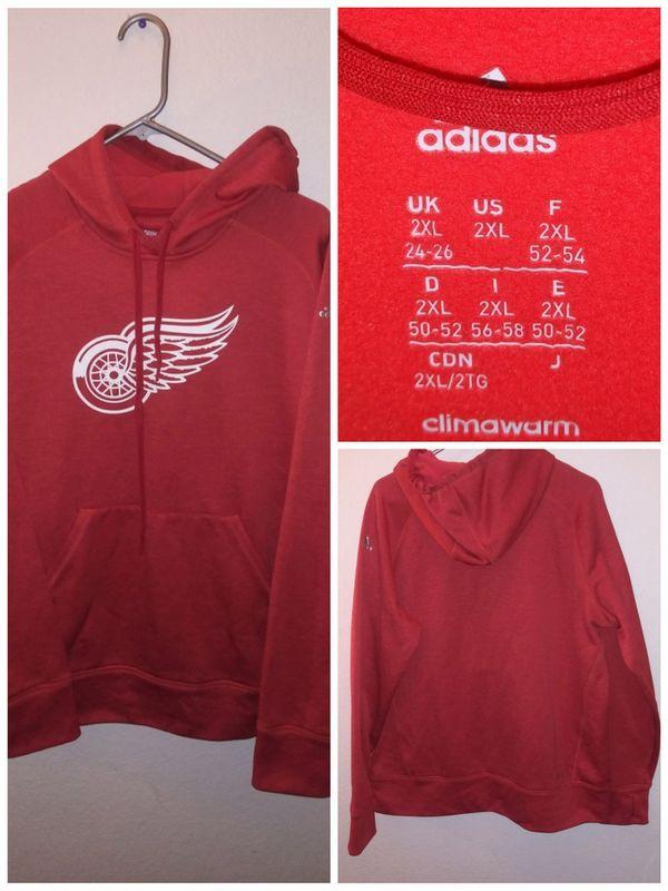Red wings hoodie