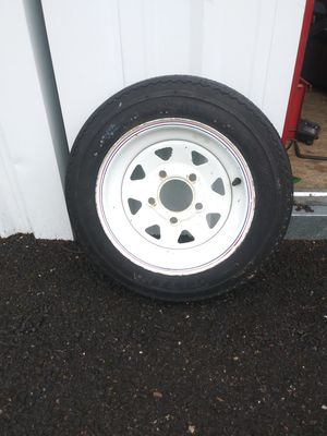 Like new Trailer Tire. 4.8 12 for Sale in Wood Village, OR