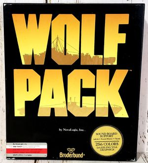 Wolf Pack PC Naval Simulation War Game Broderbund NovaLogic 1990 IBM/Tandy CIB for Sale in Harrisonburg, VA