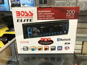 Boss elite stereo sale, get this stereo for only 29 bucks each for Sale in Los Angeles, CA