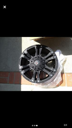 Full set of rims not tires for Sale in Los Angeles, CA