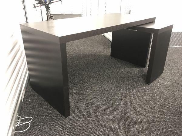 Ikea desk with Sliding small desk