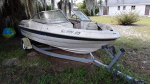 Bayliner Capri 1750, MerCruiser 3.0 with trailer, needs some work. for Sale in Leesburg, FL