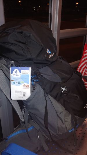 Deuter Aircontact Lite 65+10 Liter Super-Polytex Trekking Backpack - New w/ Tags! for Sale in Lynnwood, WA