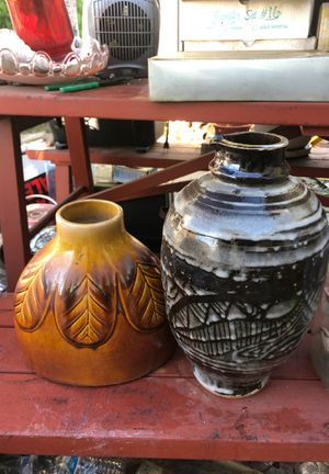 2 beautiful vases for 5 for Sale in San Diego, CA