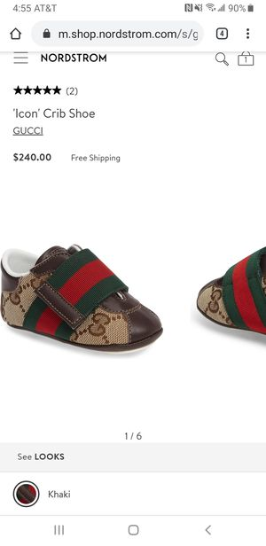 Gucci shoes for baby - troddler new! for Sale in National City, CA