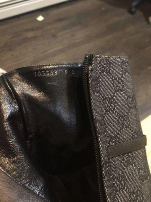 Authentic Gucci Monogram boots for Sale in Alpine, UT
