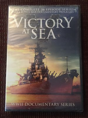 Victory at Sea: The Complete Series - DVD Movie Documentary for Sale in Harrodsburg, KY