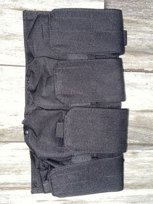 Tactical Pouches Magazines Black set of 4 for Sale in Downey, CA