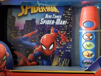 Spiderman Book And Flashlight for Sale in Belleview,  FL