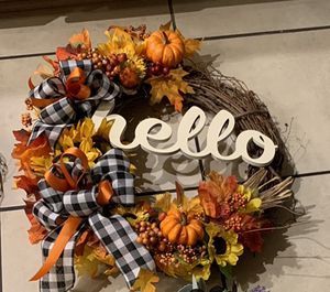 Handmade To Order Fall Wreaths for Sale in Martinsburg, WV