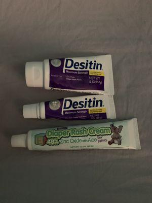 Diaper rash cream for Sale in Port Richey, FL