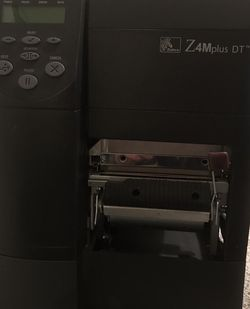 Z4Mplus DT Thermal Barcode Label Printer for Sale in Portland,  OR