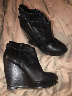 Sam Edelman wedged booties sz 8.5 for Sale in Hillsboro, OR
