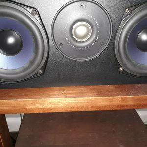 Polk Center Chsnnel Speaket In Amazing condition Sound Asking 75 Need Gone for Sale in Dallas, TX