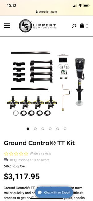 LCI Ground Control TT Trailer Self Leveling System for Sale in Las Vegas, NV