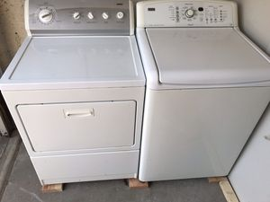 Kenmore Oasis HE washer and Kenmore 800 series dryer for Sale in The Bronx, NY