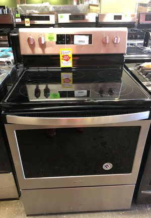 Whirlpool Electric Range Stove Stainless Steel R NW for Sale in Anaheim, CA