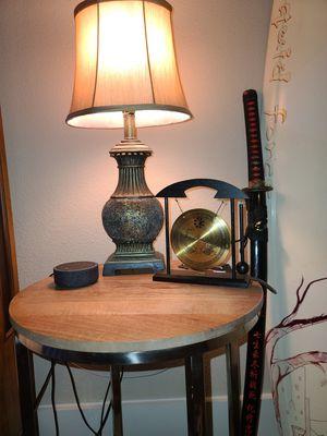 Antique glass lamp for Sale in Dallas, TX