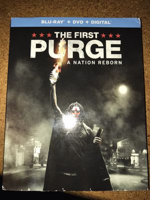 The first purge blu Ray dvd digital New for Sale in Hayward, CA