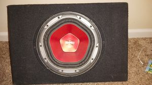 1100 subwoofer Sony explode shallow truck box for Sale in Cumming, GA