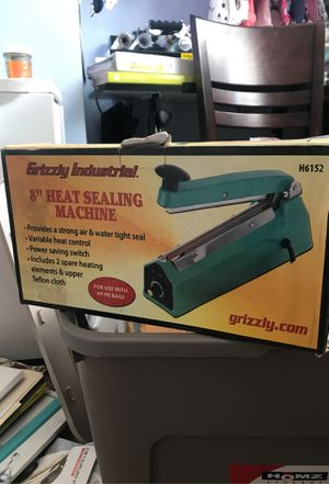 """Grizzly industrial 8"""" Heat Sealing Machine for Sale in Chesapeake, VA"""
