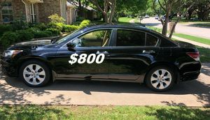$8OO I'm seling URGENTLY my family car 2OO9 Honda Accord Sedan Super cute and clean in and out. for Sale in Aurora, IL