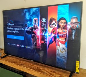 """SMART ELEMENT TV 65"""" 4K WITH SCREEN MIRRORING EXCELLENT RESOLUTION, HIGH QUALITY IN COLORS WITH HDR10 FULL UHD 2160p for Sale in Phoenix, AZ"""