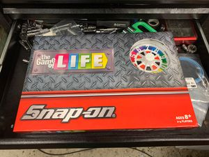Snap on game of life board game for Sale in Houston, TX
