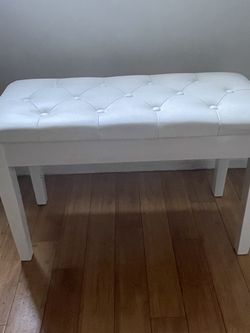 White Piano Bench for Sale in Marina del Rey,  CA