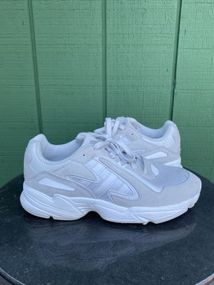 Adidas Yung-96 Triple White Shoes. Size 10. for Sale in Portland, OR
