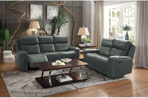 New gray color 2pc reclining sofa and loveseat set tax included free delivery for Sale in San Lorenzo, CA