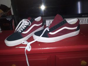 Vans shoes Limited edition dark navy blue and burgundy for Sale in El Cajon, CA