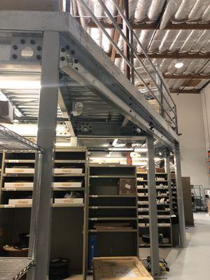 45x36 Mezzanine Platform for warehouses for Sale in Carlsbad, CA