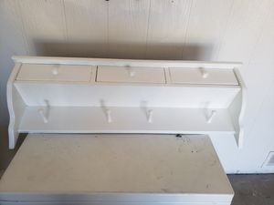 Wooden Shelf - 3 drawers - 15.00 for Sale in Phoenix, AZ